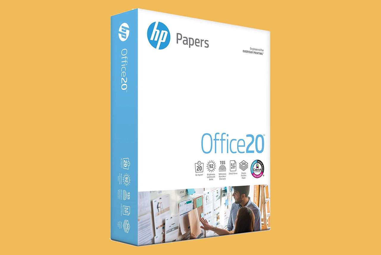 HP Printer Paper, Office20 Paper, 8.5 x 11 Pape